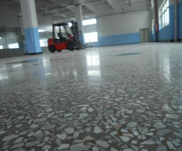 水磨石耐磨硬化地坪