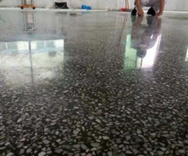雅安水磨石耐磨硬化地坪