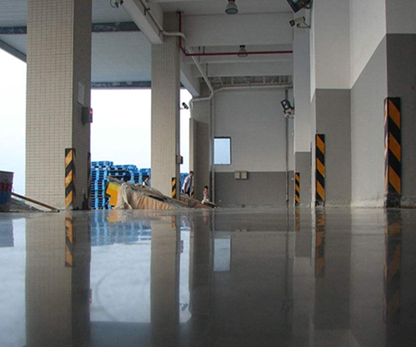 工程案例——耐磨硬化地坪